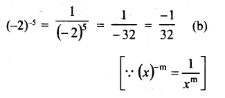 RS Aggarwal Class 8 Solutions Chapter 2 Exponents Ex 2C Q3.1