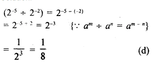 RS Aggarwal Class 8 Solutions Chapter 2 Exponents Ex 2C Q4.1