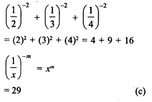 RS Aggarwal Class 8 Solutions Chapter 2 Exponents Ex 2C Q6.1