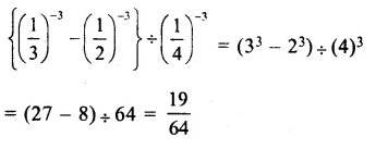 RS Aggarwal Class 8 Solutions Chapter 2 Exponents Ex 2C Q7.1