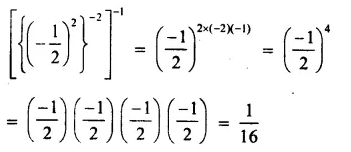 RS Aggarwal Class 8 Solutions Chapter 2 Exponents Ex 2C Q8.1