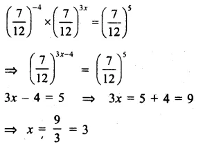 RS Aggarwal Class 8 Solutions Chapter 2 Exponents Ex 2C Q9.1