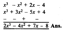 RS Aggarwal Class 8 Solutions Chapter 6 Operations on Algebraic Expressions Ex 6A 15.1
