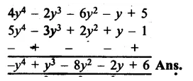 RS Aggarwal Class 8 Solutions Chapter 6 Operations on Algebraic Expressions Ex 6A 16.1
