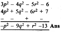 RS Aggarwal Class 8 Solutions Chapter 6 Operations on Algebraic Expressions Ex 6A 17.1