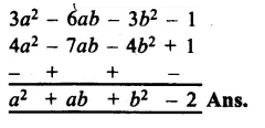 RS Aggarwal Class 8 Solutions Chapter 6 Operations on Algebraic Expressions Ex 6A 18.1