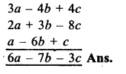 RS Aggarwal Class 8 Solutions Chapter 6 Operations on Algebraic Expressions Ex 6A 3.1