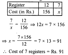 RD Sharma Class 8 Solutions Chapter 10 Direct and Inverse variationsEx 10.1 11