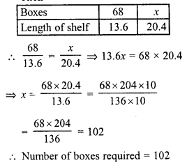 RD Sharma Class 8 Solutions Chapter 10 Direct and Inverse variationsEx 10.1 17