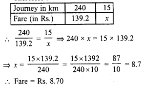 RD Sharma Class 8 Solutions Chapter 10 Direct and Inverse variationsEx 10.1 20
