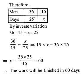 RD Sharma Class 8 Solutions Chapter 10 Direct and Inverse variationsEx 10.2 14