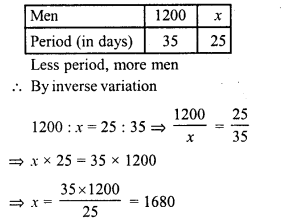 RD Sharma Class 8 Solutions Chapter 10 Direct and Inverse variationsEx 10.2 18
