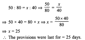RD Sharma Class 8 Solutions Chapter 10 Direct and Inverse variationsEx 10.2 20