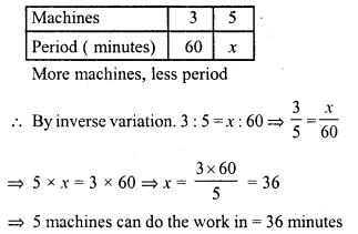 RD Sharma Class 8 Solutions Chapter 10 Direct and Inverse variationsEx 10.2 24