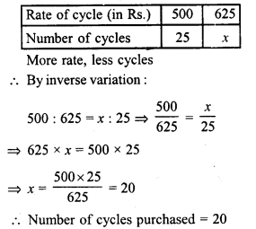 RD Sharma Class 8 Solutions Chapter 10 Direct and Inverse variationsEx 10.2 29