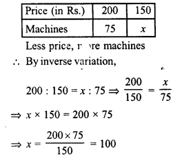 RD Sharma Class 8 Solutions Chapter 10 Direct and Inverse variationsEx 10.2 30