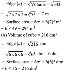 RD Sharma Class 8 Solutions Chapter 21 Mensuration II Ex 21.3 1