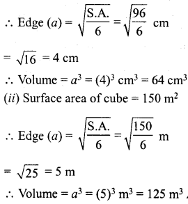 RD Sharma Class 8 Solutions Chapter 21 Mensuration II Ex 21.3 2