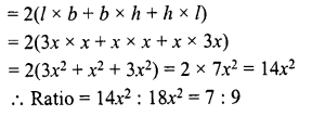 RD Sharma Class 8 Solutions Chapter 21 Mensuration II Ex 21.4 10