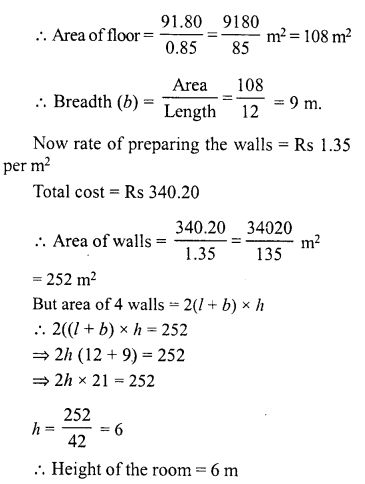 RD Sharma Class 8 Solutions Chapter 21 Mensuration II Ex 21.4 15
