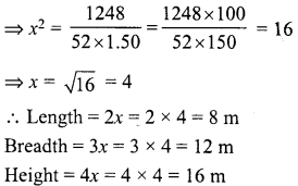 RD Sharma Class 8 Solutions Chapter 21 Mensuration II Ex 21.4 17