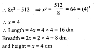 RD Sharma Class 8 Solutions Chapter 21 Mensuration II Ex 21.4 7