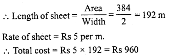 RD Sharma Class 8 Solutions Chapter 21 Mensuration II Ex 21.4 8