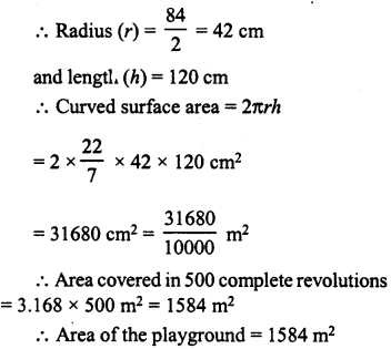 RD Sharma Class 8 Solutions Chapter 22 Mensuration III Ex 22.1 17