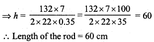 RD Sharma Class 8 Solutions Chapter 22 Mensuration III Ex 22.1 3