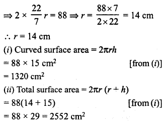 RD Sharma Class 8 Solutions Chapter 22 Mensuration III Ex 22.1 5