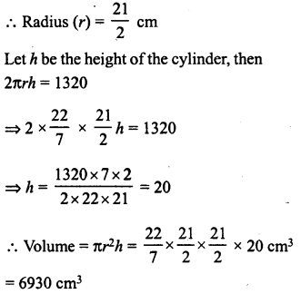 RD Sharma Class 8 Solutions Chapter 22 Mensuration III Ex 22.2 16