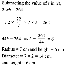 RD Sharma Class 8 Solutions Chapter 22 Mensuration III Ex 22.2 19