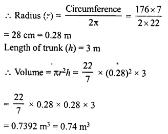 RD Sharma Class 8 Solutions Chapter 22 Mensuration III Ex 22.2 24