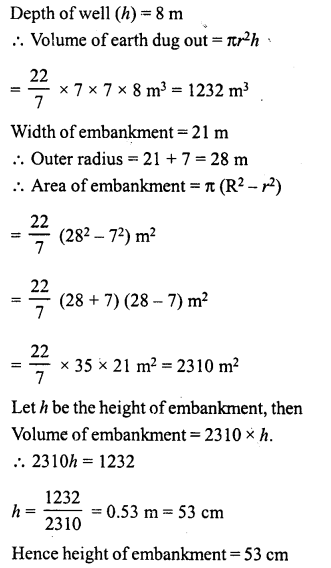 RD Sharma Class 8 Solutions Chapter 22 Mensuration III Ex 22.2 27
