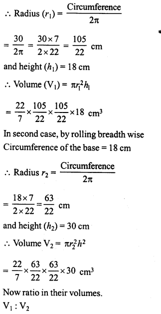 RD Sharma Class 8 Solutions Chapter 22 Mensuration III Ex 22.2 31