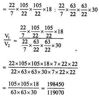 RD Sharma Class 8 Solutions Chapter 22 Mensuration III Ex 22.2 32
