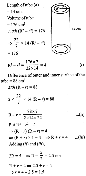 RD Sharma Class 8 Solutions Chapter 22 Mensuration III Ex 22.2 39