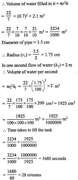 RD Sharma Class 8 Solutions Chapter 22 Mensuration III Ex 22.2 44