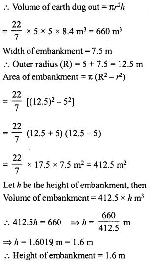 RD Sharma Class 8 Solutions Chapter 22 Mensuration III Ex 22.2 51