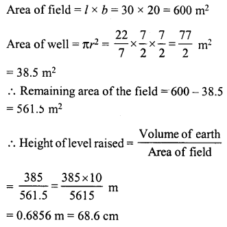 RD Sharma Class 8 Solutions Chapter 22 Mensuration III Ex 22.2 57