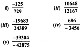 RD Sharma Class 8 Solutions Chapter 4 Cubes and Cube Roots Ex 4.4 13