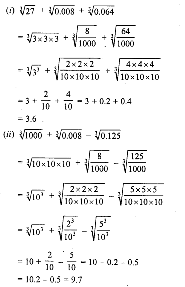 RD Sharma Class 8 Solutions Chapter 4 Cubes and Cube Roots Ex 4.4 22