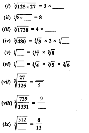 RD Sharma Class 8 Solutions Chapter 4 Cubes and Cube Roots Ex 4.4 29