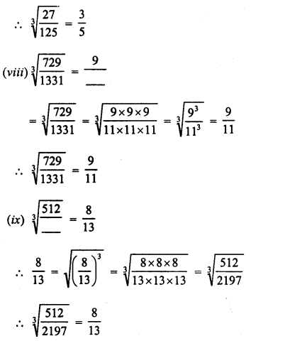 RD Sharma Class 8 Solutions Chapter 4 Cubes and Cube Roots Ex 4.4 33