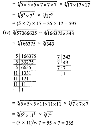 RD Sharma Class 8 Solutions Chapter 4 Cubes and Cube Roots Ex 4.4 45