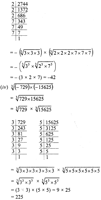 RD Sharma Class 8 Solutions Chapter 4 Cubes and Cube Roots Ex 4.4 9