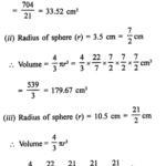 RD Sharma Class 9 Solutions Chapter 21 Surface Areas and Volume of a Sphere Ex 21.2 1.1