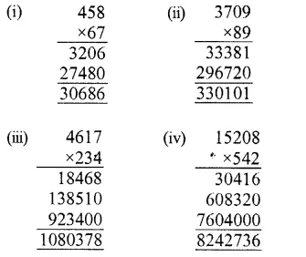 RS Aggarwal Class 6 Solutions Chapter 3 Whole Numbers Ex 3D 7.1