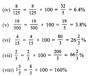 RS Aggarwal Class 7 Solutions Chapter 10 Percentage Ex 10A 2