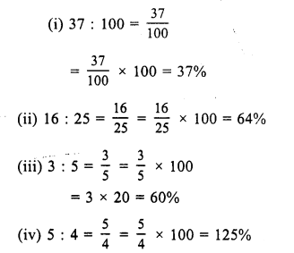 RS Aggarwal Class 7 Solutions Chapter 10 Percentage Ex 10A 5